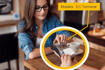 Mobiles EC Terminal