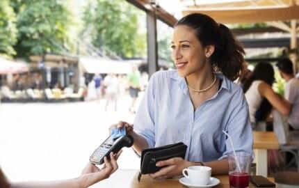 EC-Cash Terminal für Kartenzahlung