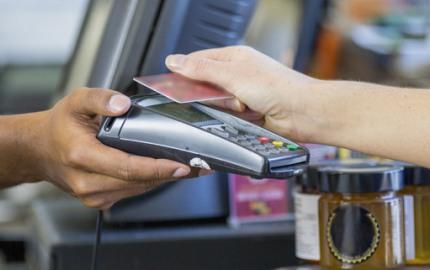 Kreditkartenlesegerät
