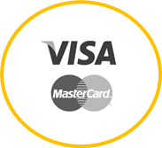 Icon Visa und Mastercard Logos