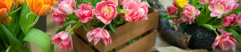 Blumen im Blumenlade