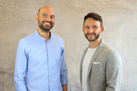 Geschäftsführer Milan Klesper und Joachim Feger