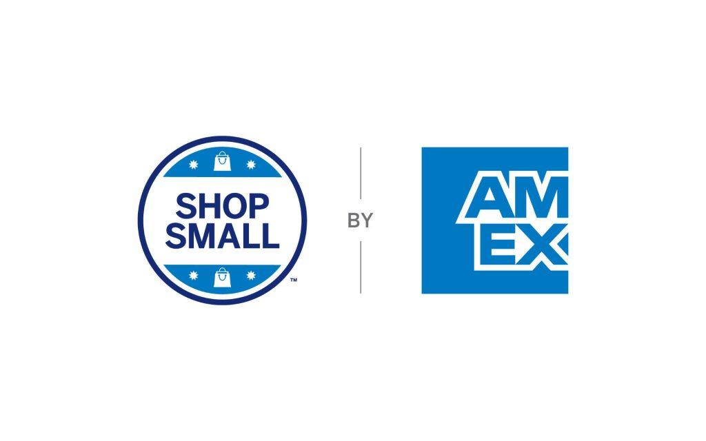 Kampagnenlogo Shop Small Aktion von Amex